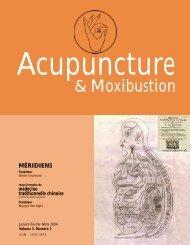Acupuncture & moxibustion 3(1) de janvier à mars 2004 - Méridiens