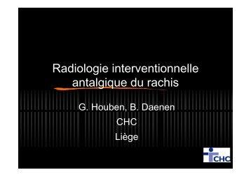 Drs Georges HOUBEN et Bénédicte DAENEN - CHC