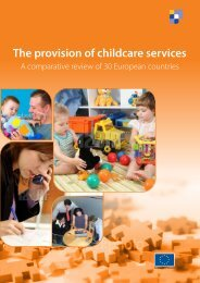 The provision of childcare services - European Commission - Europa