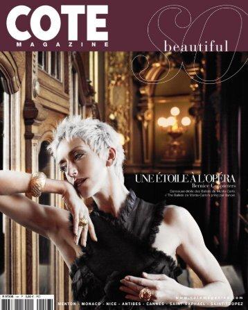 cote la revue d azur.. - Cote Magazine