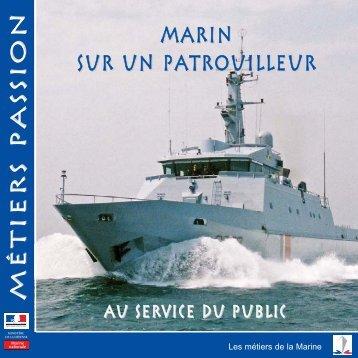 marin sur un patrouilleur Métiers passionMétiers ... - Marine et Marins
