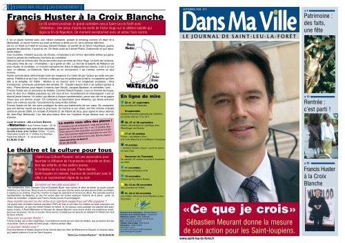 Magazine septembre 2008 - Saint-Leu-La-Forêt