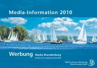Media-Information 2010 Werbung Marke ... - Runze & Casper