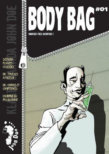 Télécharger le numéro 1 de Bodybag - Editions John Doe