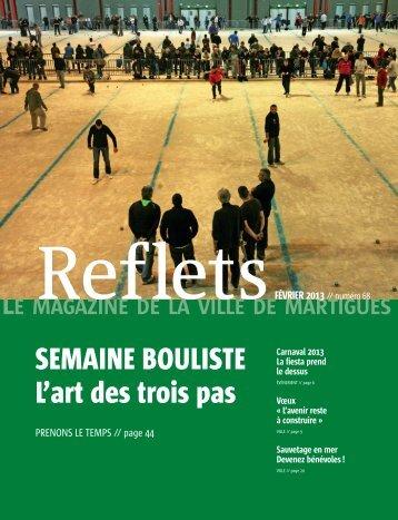 Reflets - Ville de Martigues