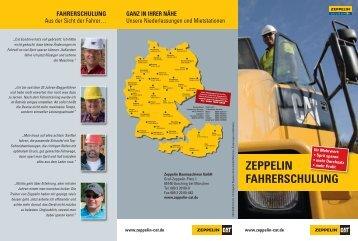 ZEPPELIN FAHRERSCHULUNG - Zeppelin Baumaschinen GmbH