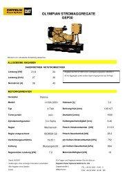 olympian stromaggregate gep30 - Zeppelin Baumaschinen GmbH