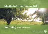 Media-Informationen 2011 Werbung Marke ... - Runze & Casper