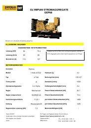 olympian stromaggregate gep88 - Zeppelin Baumaschinen GmbH
