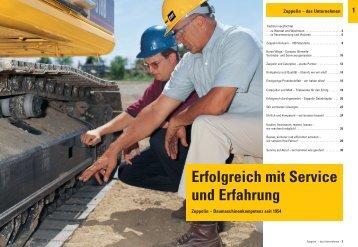 das Unternehmen - Zeppelin Baumaschinen GmbH