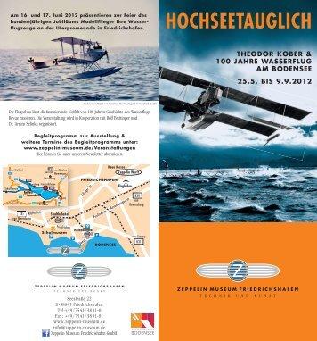 ZM Flyer Wasserflug 98x210 FF-E4.indd - Zeppelin Museum