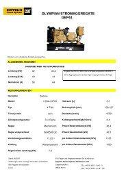 olympian stromaggregate gep44 - Zeppelin Baumaschinen GmbH