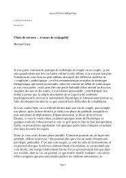 Choix de névrose - Association freudienne de Belgique