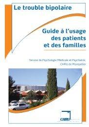 Le trouble bipolaire - CHU Montpellier