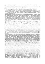 Molin, Georges de - Centrale Histoire