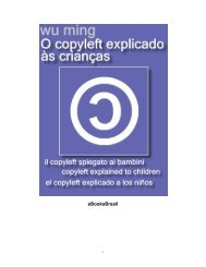 O Copyleft Explicado Às Crianças - eBooksBrasil