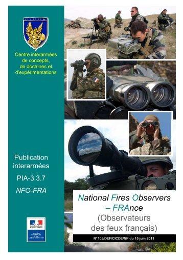 National Fires Observers – FRAnce (Observateurs des feux français)
