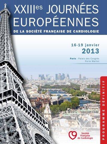 télécharger - Journées Européennes de la Société Française de ...