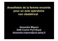 desar femme enceinte - Institut d'Anesthésie-Réanimation de Paris