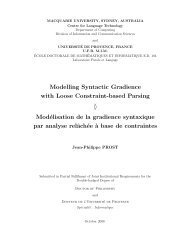 Modelling Syntactic Gradience with Loose Constraint-based Parsing ...