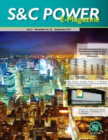 Septiembre 2011 - S&C Electric Mexicana