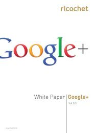 Download White Paper Google+ - Teil 2