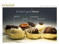 Kontakt - ricochet Gmbh
