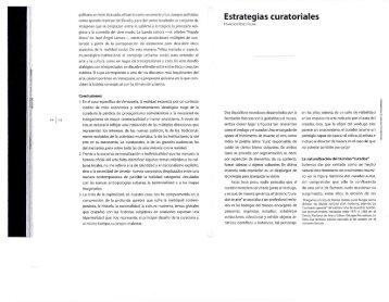 Estrategias curatoriales - Sete Fotografia