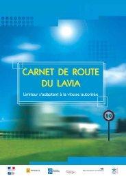 Carnet de route du LAVIA - Accès aux sites hébergés par le LCPC ...