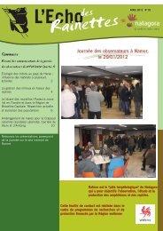 Journée des observateurs à Namur, le 29/01/2012 ... - Natagora