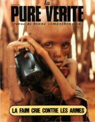 Pure Verite 1983 (No 01) Jan - Herbert W. Armstrong Library and ...
