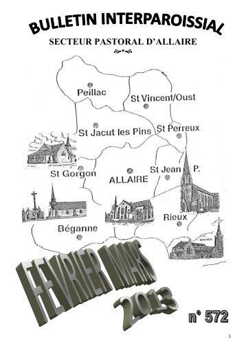 Bulletin de février-mars 2013 - Doyenné d'Allaire - Free
