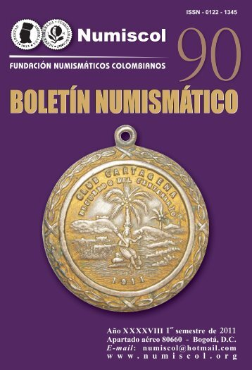 PORTADA BOLETIN 90 - numiscol