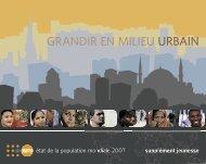 GRANDIR EN MILIEU URBAIN - UNFPA