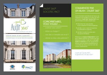 L'AUDIT 360° SOCOTEC PACT