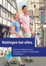 Hattingen hat alles. - Bert  Sälzer Marketing