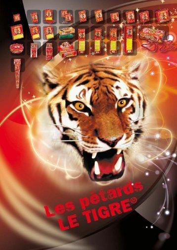 Les pétards Le Tigre - Pyragric