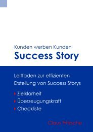 Success Story - Claus Fritzsche