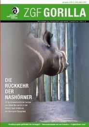 ZGF Gorilla | Juli 2010 - Zoologische Gesellschaft Frankfurt