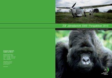 Annual Report 2010 - Zoologische Gesellschaft Frankfurt