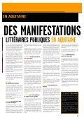 Télécharger Lettres d'Aquitaine en PDF - Conseil Régional d'Aquitaine - Page 3
