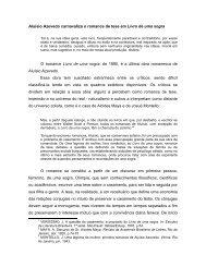 Aluísio Azevedo carnavaliza o romance de tese em Livro de ... - dacex
