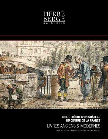 LIVRES ANCIENS & MODERNES - E-Bibliophilie