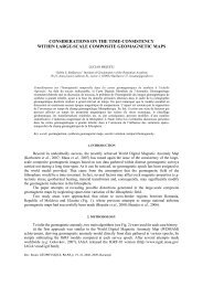 considerations on the time-consistency within large-scale composite ...