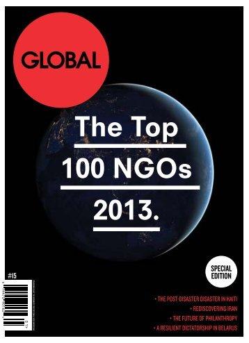 The Top 100 NGOs 2013. - Akshaya Patra