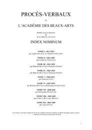 nominum - École nationale des chartes
