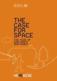 Case for Space - Royal Institute of British Architects