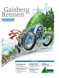 Gaisbergrennen - Salzburger Nachrichten