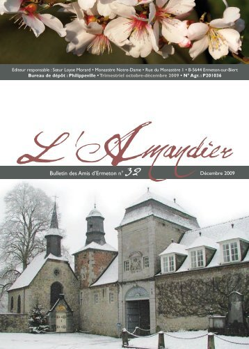 Bulletin des Amis d'Ermeton n° 32 - Bénédictines d'Ermeton