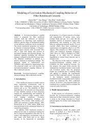 Modeling of Lixiviation-Mechanical Coupling ... - COMSOL.com